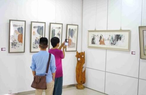 水墨新青年 当代青年人物画家邀请展 在京开幕